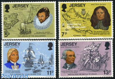 American bicentenary 4v