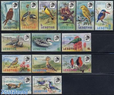 Definitives, birds 14v