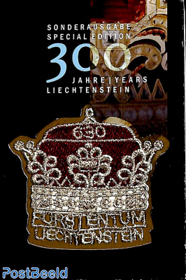 300 years Liechtenstein s/s