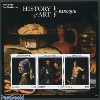 History of art, Baroque 3v m/s