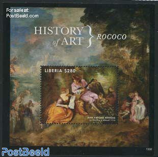 History of art, Rococo s/s