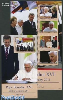 Pope Benedict XVI 2 s/s