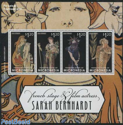 Sarah Bernhardt 4v m/s