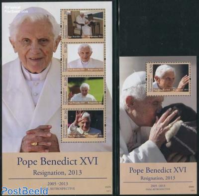 Pope Benedict XVI resignation 2 s/s