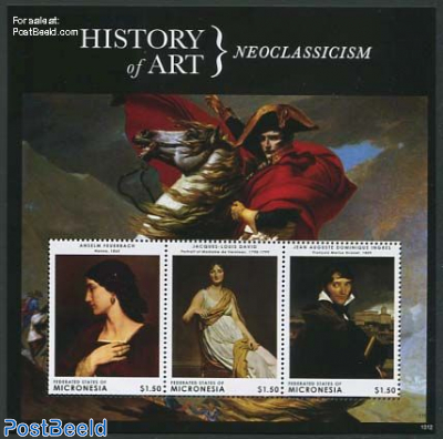 History of art, Neoclassicism 3v m/s