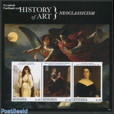 History of art, Neoclassicism 3v m/s