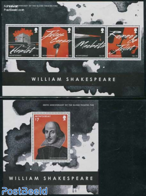 William Shakespeare 2 s/s