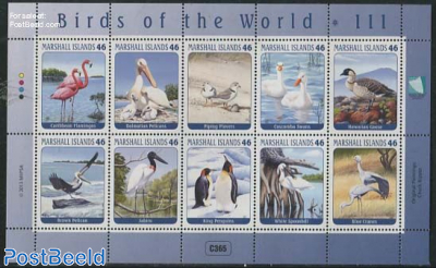Birds of the World III, 10v m/s