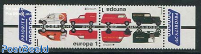 Europa, postal transport 2v [:]