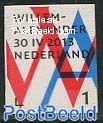King Willem Alexander 1v, Normal paper