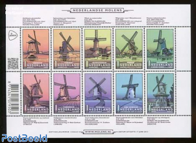 Windmills 10v m/s