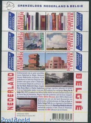 Borderless Netherlands-Belgium 6v m/s, Literature