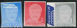 Definitives, King Willem-Alexander 3v s-a (with year 2013)
