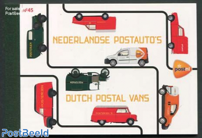 Europa, Postal transport prestige booklet