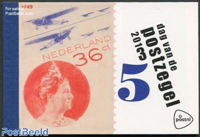 Stamp Day prestige booklet