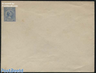 Envelope, 5c blue