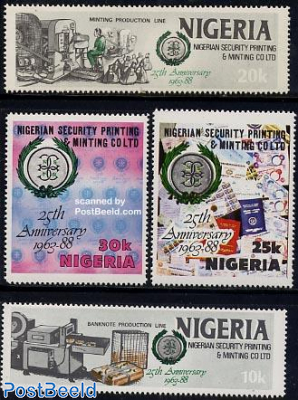 National printing 4v