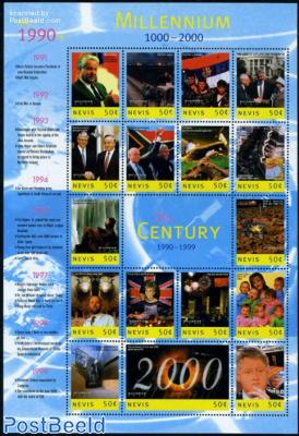 Millennium, events 1990-1999 17v m/s