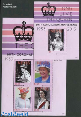 60th Anniversary of Coronation 2 s/s
