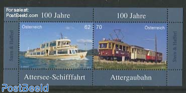 100 Years Attergaubahn Cruises & Attersee Railway s/s