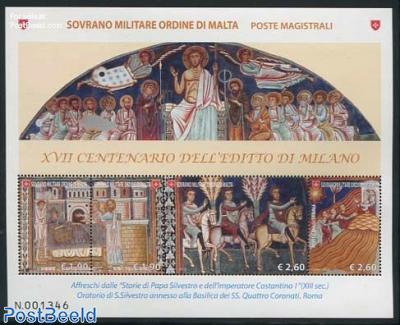 1700 Years Edict of Milano s/s