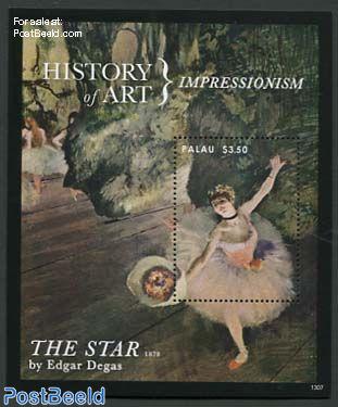 History of art, Edgar Degas s/s