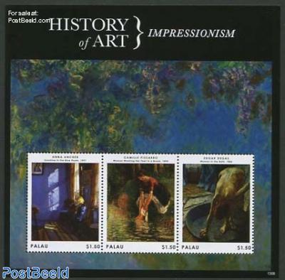 History of art 3v m/s, Impressionism