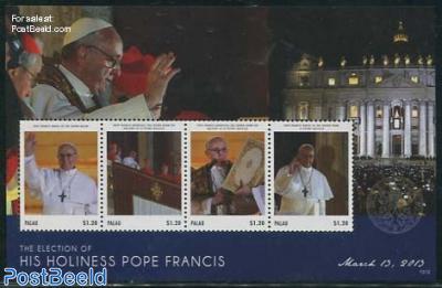 Pope Francis 4v m/s