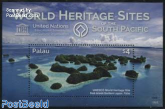 World Heritage Sites of the South Pacific s/s