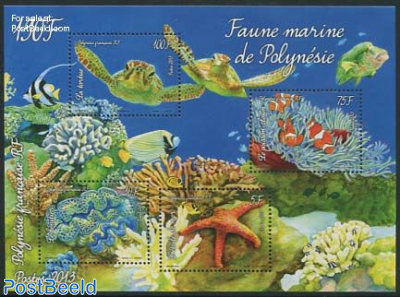 Marine life of Polynesia s/s