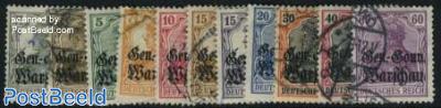 German occupation 11v