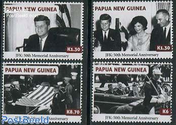 J.F. Kennedy 4v