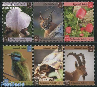 Flora & Fauna 6v