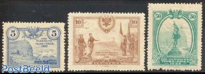 Welfare stamps 3v