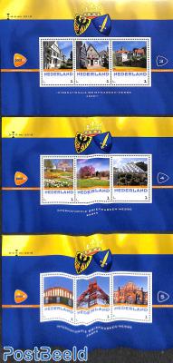 Briefmarkenmesse Essen 3 s/s