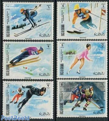 Winter Olympic Games 6v