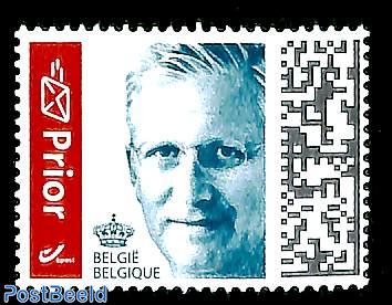 Prior stamp 1v