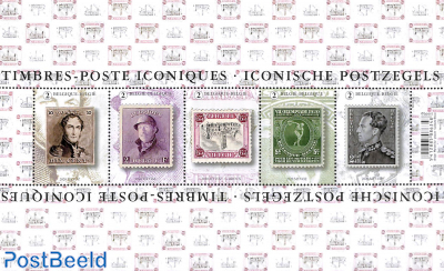 Iconic stamps s/s
