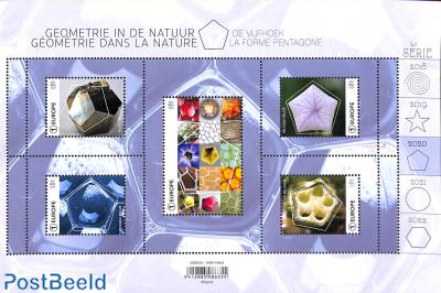 Pentagons in nature 5v m/s