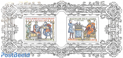 William the Conquerer and Mathildre of Flandres special s/s