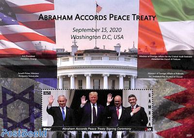 Abraham Accords peace treaty s/s