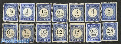 Postage due 14v
