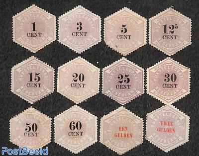 Telegram stamps 12v