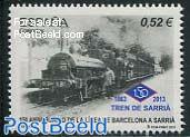 Barcelona-Sarria railway 1v