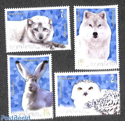 Arctic animals 4v