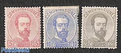 King Amadeo I 3v