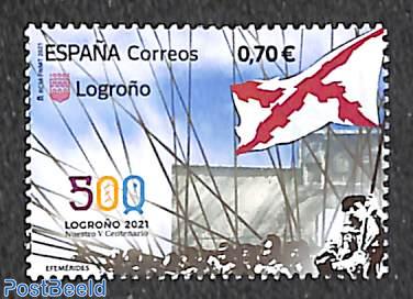 500 years Logroño 1v