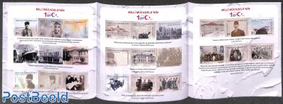 100 years National revolution foil booklet