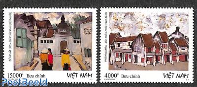 Bui Xuan Phai paintings 2v