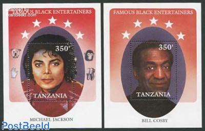 Bill Cosby/Michael Jackson 2 s/s